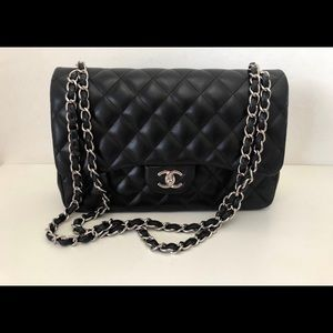 Chanel Classic Flap Bag Leather